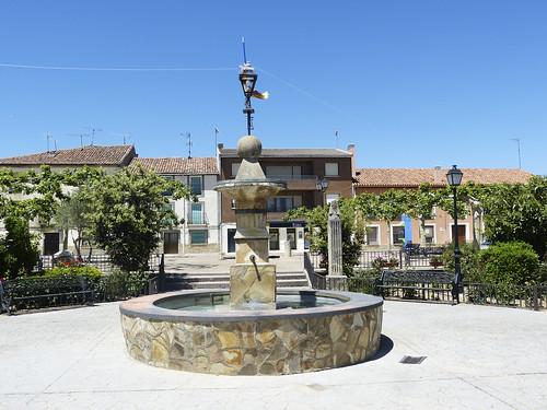 Hiendelaencina (Guadalajara).Plaza Mayor.