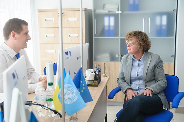 Novopskov's new Administrative Service Centre opens its doors