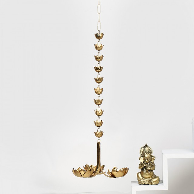 lotus hanging light