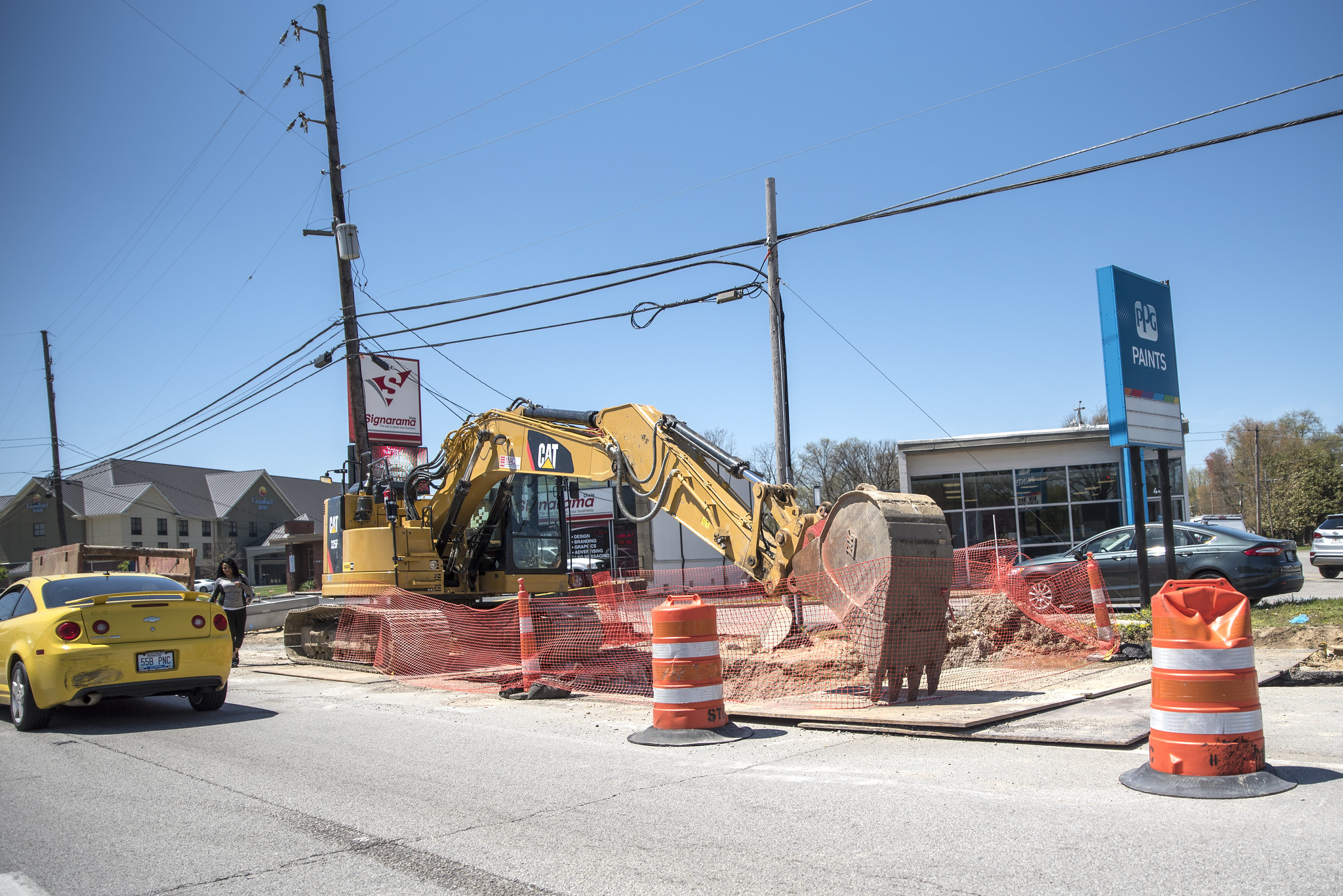 The New Dixie Highway Construction Photos