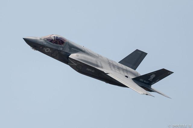Iwakuni FD 2018 (69) VMFA-121 F-35B VK-04/169168