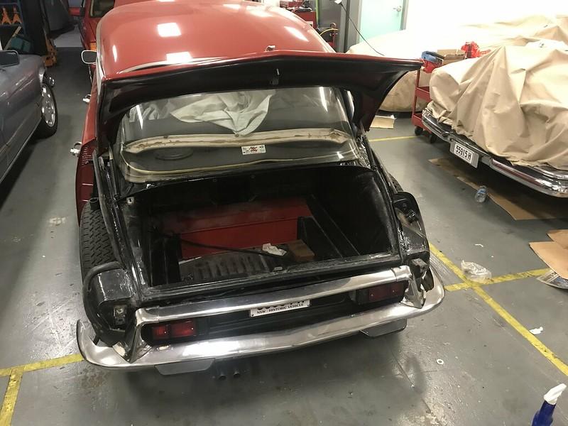 DS rear bumper