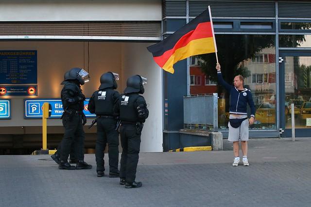 AfD-Demo Rostock und Gegenproteste