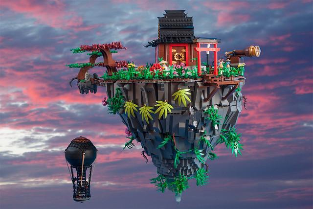 Flying monastery