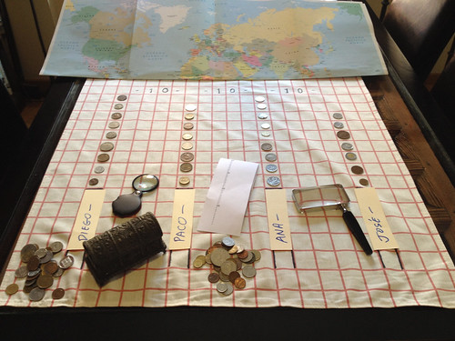 World Coin games game board