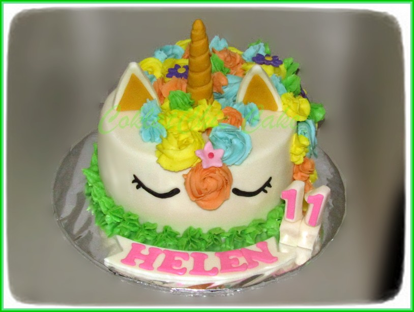 Cake Unicorn HELEN 15 cm