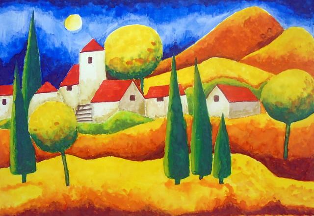 Landscape, by Cristina - DSC03166