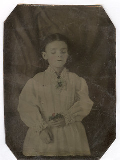 Post-Mortem, Tintype, Young Girl