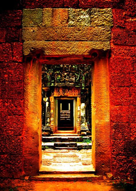 Banteay Srei, Canon IXY DIGITAL 500
