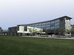 building, architecture, headquarters, facade, campus,