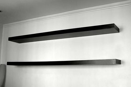 wall mounted shelves flickr photo sharing. Black Bedroom Furniture Sets. Home Design Ideas
