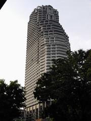 Bangkok - building near Saphan Taksin