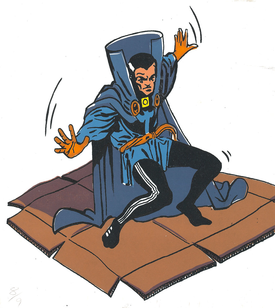 Dr. Strange, Breakdancing