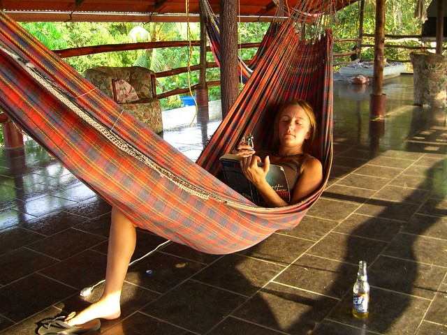 Hammocks in Cafe Del Mar