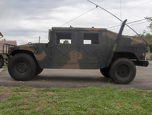 1993 Humvee Hard Top Slantback