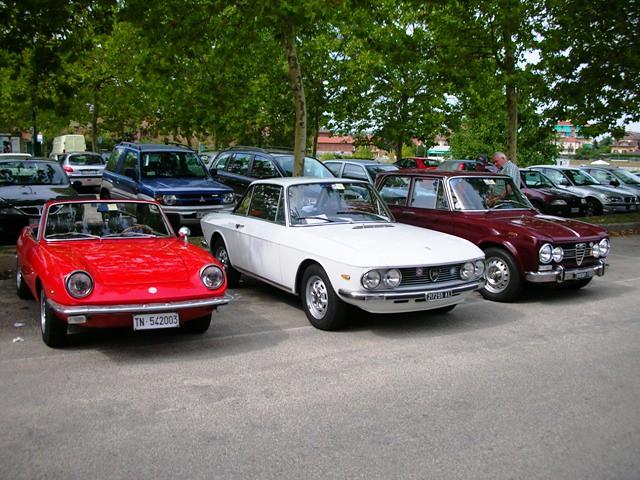 Fiat 850 Spider Lancia Fulvia Coup 232 3 Alfa Romeo