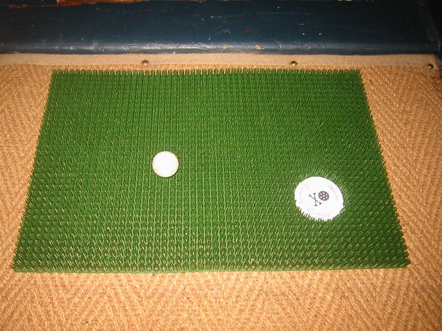 Custom Golf Doormat