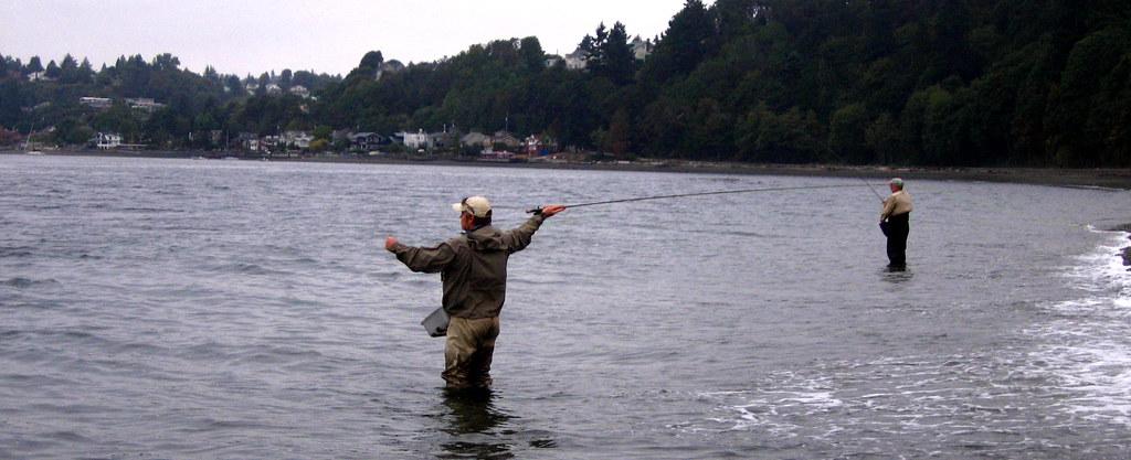 Fly times old timey fishing blog september 2006 for Puget sound fly fishing
