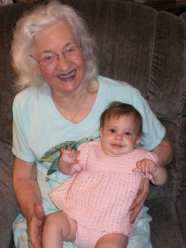 Guenna and Great Grandma Webster