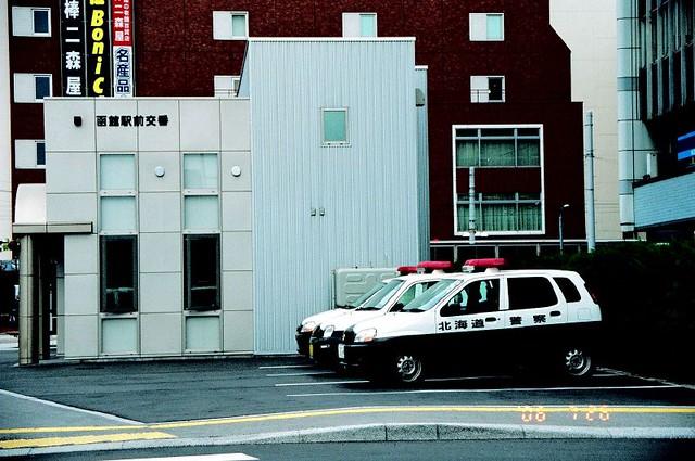 北海道警察车