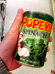 Be Like Popeye: Eat Canned Spinach!?!