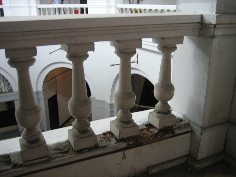Above the main foyer