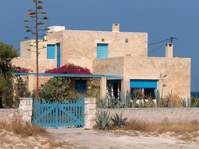 House of Nikos Kazantzakis, Aegina - picture taken in 2006