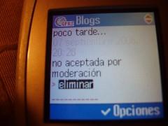 Blogs en el móvil