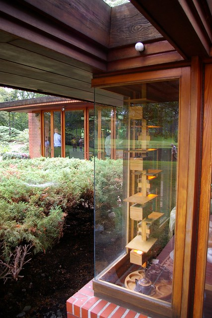 Usonian smith house design by frank lloyd wright flickr for Garden room joseph smith building