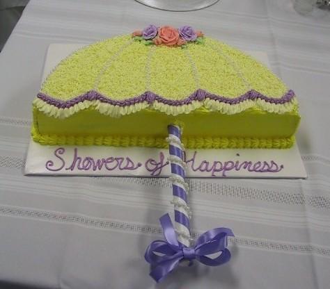 Easy Cake Decorating Ideas For Bridal Shower : Umbrella Flickr - Photo Sharing!