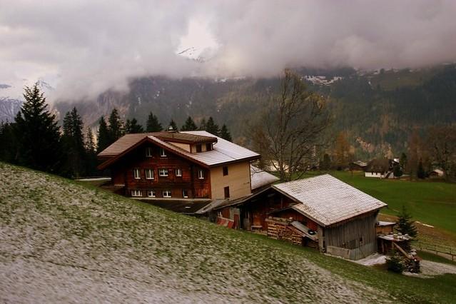 On the way up to JungfrauJoch - Switzerland