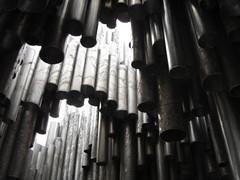 organ pipe, line, organ, pipe organ,