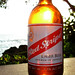 Red Stripe sunset by BitHead