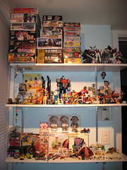 my new toy display room!
