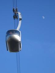 tram + moon