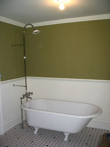 clawfoot tub shower tada flickr photo sharing