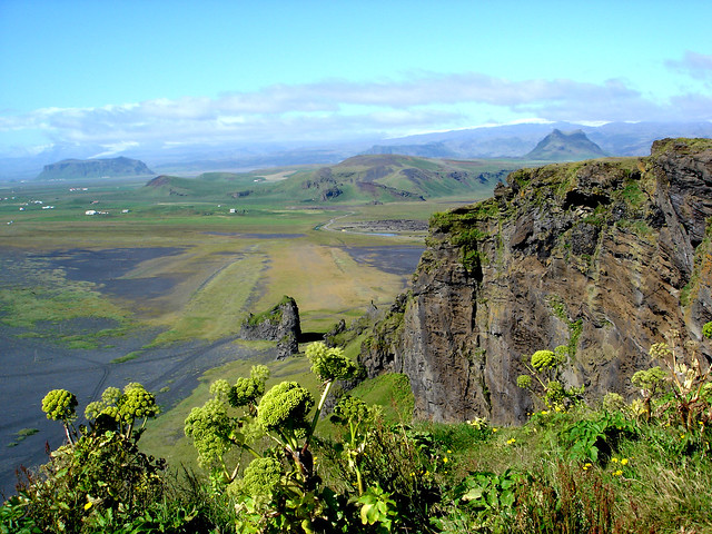 Dyrhólaey landscape