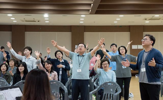 New Korea Gathering 40 Days (파주 오산리 기도원)