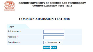 CUSAT CAT Result
