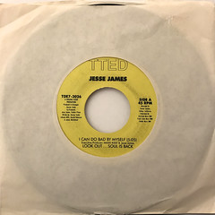 JESSE JAMES:I CAN DO BAD BY MYSELF(JACKET A)
