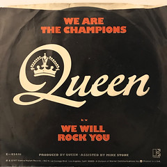 QUEEN:WE ARE THE CHAMPIONS(JACKET B)