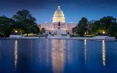 Washington by night