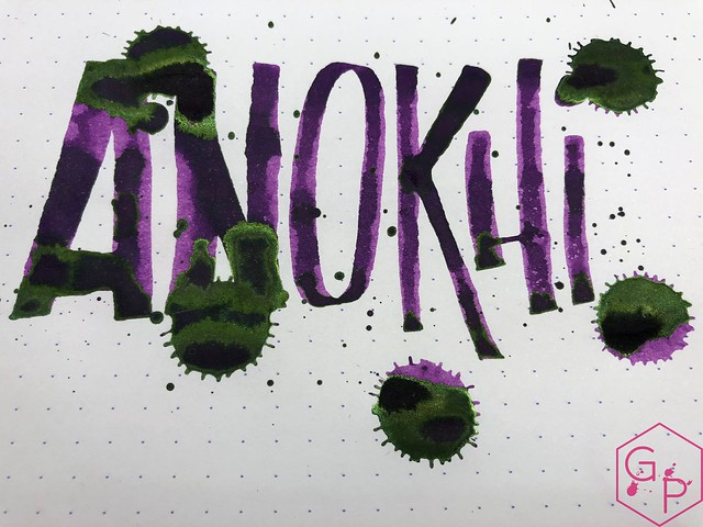 Krishna Inks Anokhi Fountain Pen Ink Review @PenChalet 14