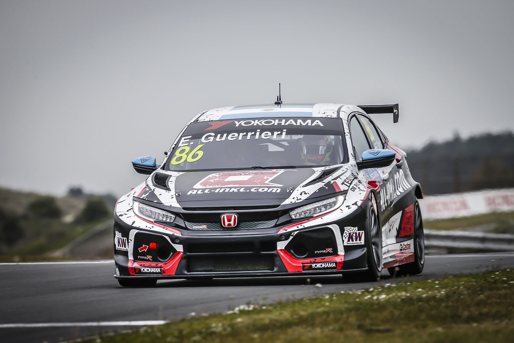 86 GUERRIERI Esteban, (arg), Honda Civic TCR team ALL-INKL.COM Munnich Motorsport, action during the 2018 FIA WTCR World Touring Car cup of Zandvoort, Netherlands from May 19 to 21 - Photo Francois Flamand / DPPI
