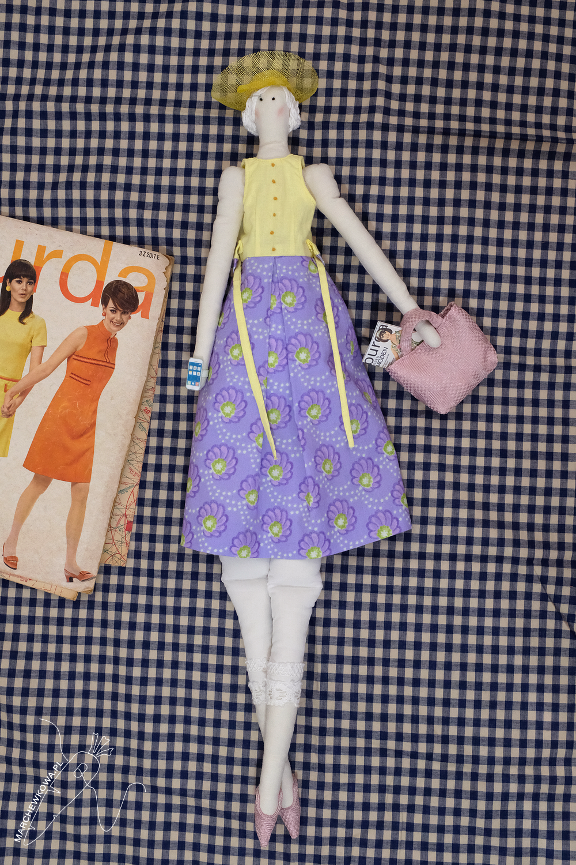 marchewkowa, marchewa, marchewka, blog, szycie, sewing, rękodzieło, handmade, moda, styl, vintage, retro, repro, 1950s, 1960s, Wrocław szyje, w starym stylu, Tilda, doll, lalka, miniatury, miniatures