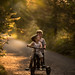 Bike ride (vintage) by iwona_podlasinska