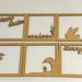 Making cardboard lamps and dioramas