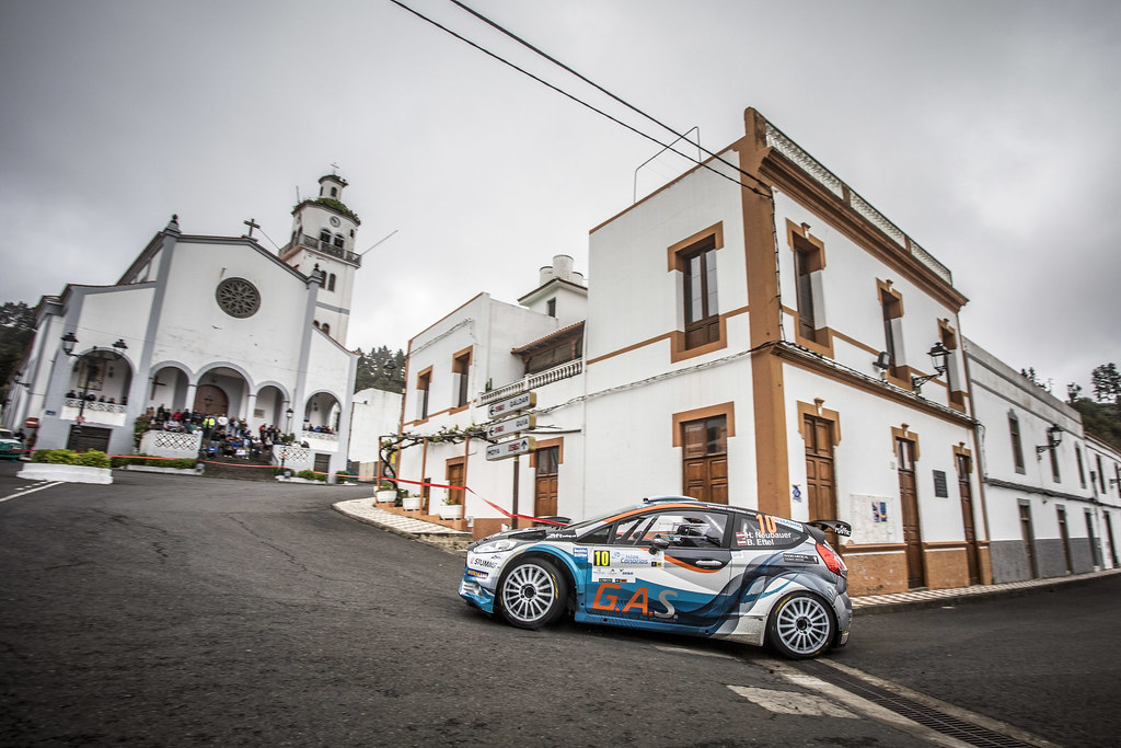 10 NEUBAUER Hermann( (aut),  ETTEL Bernhard (aut), FORD FIESTA R5, action during the 2018 European Rally Championship ERC Rally Islas Canarias, El Corte Inglés,  from May 3 to 5, at Las Palmas, Spain - Photo Gregory Lenormand / DPPI