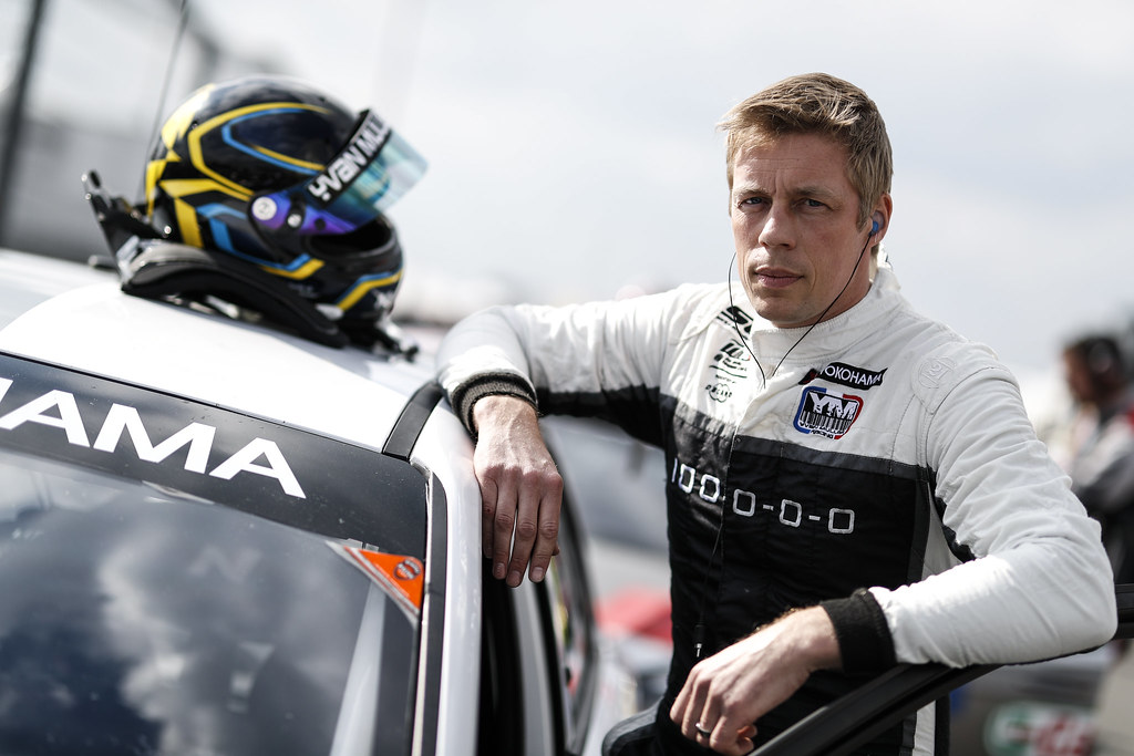 BJORK Thed (SWE), YMR, Hyundai i30 N TCR, portrait during the 2018 FIA WTCR World Touring Car cup of Nurburgring, Nordschleife, Germany from May 10 to 12 - Photo Clement Marin / DPPI
