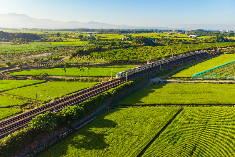 Green farmland|Taiwan